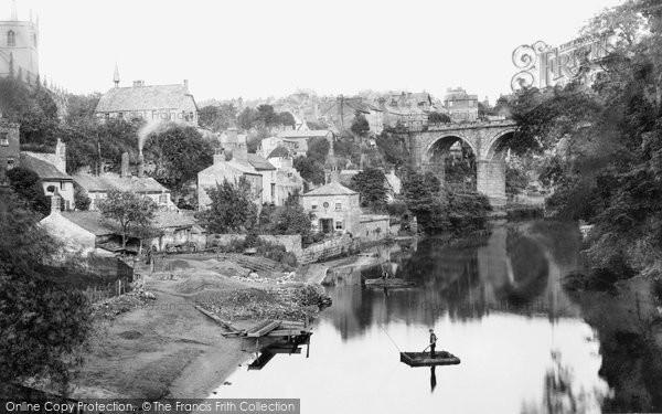 Knaresborough, the Town and River 1888