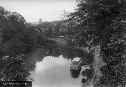 Knaresborough, View Of The River Nidd 1914