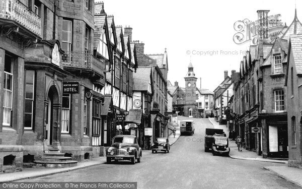 Old Historical Nostalgic Pictures Of Garth In Powys Near