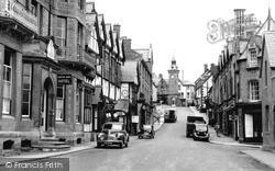 Knighton, Broad Street c.1955