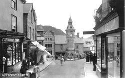 Clock Tower c.1955, Knighton