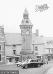 Knighton, Clock Tower c.1960