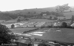 Fron Hir And Llanshay c.1960, Knighton