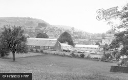 Knighton, General View c.1960