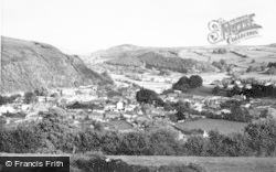 Knighton, General View c.1965
