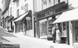 High Street Shops c.1965, Knighton
