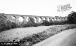 Knucklas Viaduct c.1955, Knighton