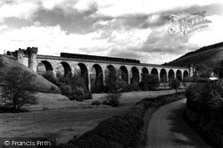 Knighton, Knucklas Viaduct c.1965