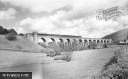 Knucklas Viaduct c.1965, Knighton