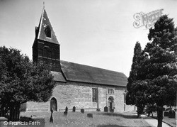 Knighton On Teme, St Michael's Church c.1950