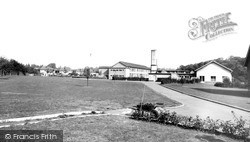 Overdale School c.1960, Knighton