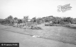 Knighton, Park c.1955