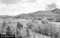 Knighton, River Teme c.1965