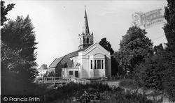 St Mary's Church c.1955, Knighton