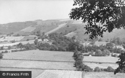 Knighton, Teme Valley From The Garth c.1960