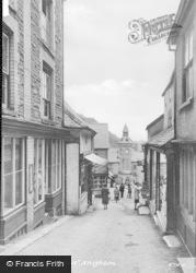 Knighton, The Narrows c.1955