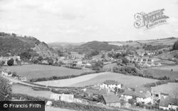 The Teme Valley c.1955, Knighton