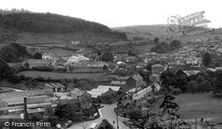 Knighton, The View From Kinsley c.1960