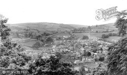 Knighton, View From Kinsley Wood c.1950