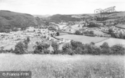 Knighton, View From The Garth c.1965