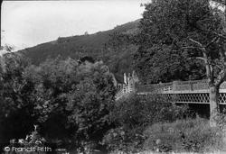 Knightwick, Bridge Over Teme 1906