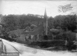 Knightwick, St Mary's Church 1904