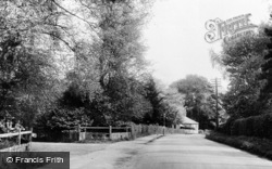 Knockholt, Main Road c.1955