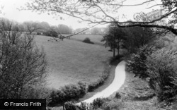 Knockholt, Shelleys Lane c.1955