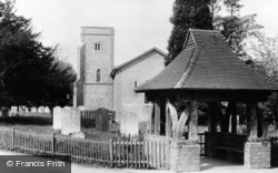 Knockholt, St Katherine's Church c.1955
