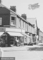 Corner Shop c.1965, Knott End-on-Sea