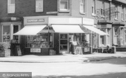 E J And D Cartwrights Newsagents c.1965, Knott End-on-Sea