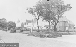Lanchester Road c.1960, Knott End-on-Sea