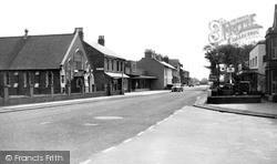 Post Office And Methodist Church c.1960, Knott End-on-Sea