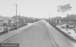 Quail Holme Road c.1960, Knott End-on-Sea