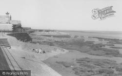 The Beach c.1960, Knott End-on-Sea