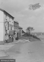 The Black Bull c.1950, Knott End-on-Sea