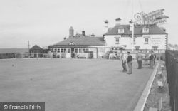 The Bowling Green c.1960, Knott End-on-Sea