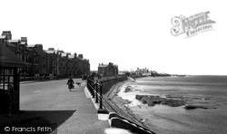 The Esplanade c.1950, Knott End-on-Sea