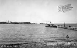 The Ferry And King Orry c.1960, Knott End-on-Sea