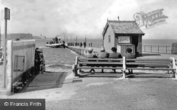 The Ferry And Slipway c.1950, Knott End-on-Sea