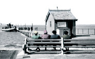 Knott End-on-Sea, the Ferry and Slipway c1950