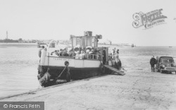 The Ferry c.1960, Knott End-on-Sea
