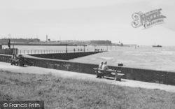 The Ferry Slipway c.1960, Knott End-on-Sea