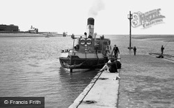 The Ferry 'wyresdale' c.1955, Knott End-on-Sea