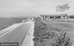 The Golf Clubhouse And Promenade c.1960, Knott End-on-Sea