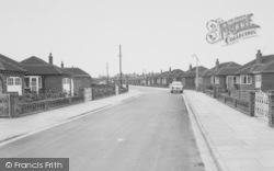 Westbourne Road c.1960, Knott End-on-Sea