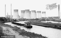 Ferrybridge Power Station c.1965, Knottingley