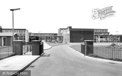 Middle Lane High School c.1960, Knottingley