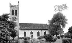 St Botolph's Church c.1965, Knottingley