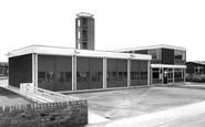 Knottingley, the Fire Station c1965